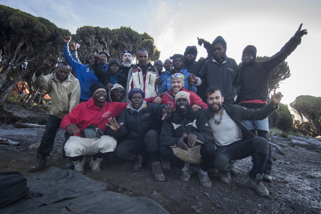 Carregadores do Kilimanjaro
