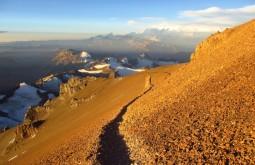 A travessia a 6500m - Foto de Edu Tonetti