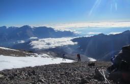 Ana Sudo e Roseane Formenti a 6100m - Foto de Maximo Kausch