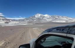 Caminho ao Refúgio Atacama com 5200m - Foto de Sergio Vahnovan
