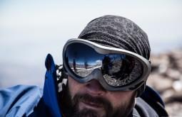 Cedric Chamaillard da França no cume - Foto de Gabriel Tarso