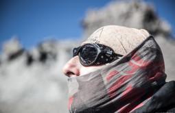 Edu Tonetti a 5600m no Aconcágua
