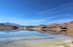 Espelho perfeito na Laguna Santa Rosa com 3800m - Foto de Diego Coco Calabro