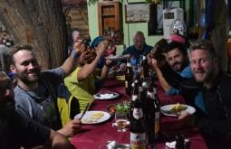 Jantar merecido aprós a expedição de janeiro de 2015