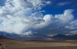 O Ermitaño e Peña Blanca vistos de 4500m - Foto de Eduardo Tonetti