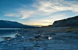 Pôr do sol desde Laguna Verde - Foto de Joair Bertola