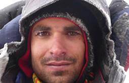 Pedro no vulcão Sajama, Bolívia