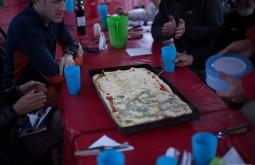 Pizza para almoço a 4300m! - Foto de Gabriel Tarso