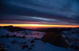 Por do Sol desde Nido de Condores a 5600m, alguns dos mais bonitos que você verá em sua vida! - Foto de Ashok Kipatri