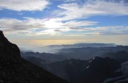 Por do sol desde 6800m - Foto de Edu Tonetti
