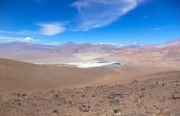 Vista da Laguna Santa Rosa desde o 7 hermanos - Foto de Alexandre Daniotti