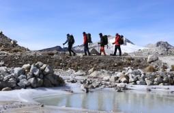 Caminhada de aclimatação