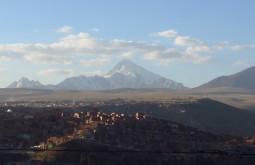 El alto e o Huayna potosi ao fundo - Foto de Paula Kapp