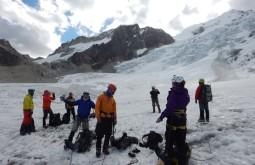 Treinamento em glaciares