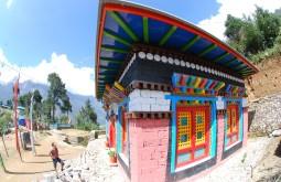 Templo em Jorsale, Nepal - Foto de Maximo Kausch