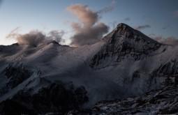 ACONCAGUA - Cerro Cuerno desde plaza Canada, esta imponente montanha tem quase 5400m - Foto Gabriel Tarso