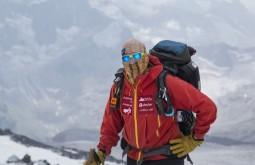 ACONCAGUA - Maximo dando treinamento em glaciares - Foto Gabriel Tarso