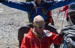 ACONCAGUA - Maximo e Cedric a 5300m - Foto Gabriel Tarso