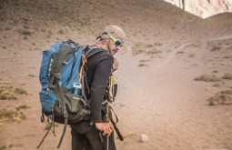 ACONCAGUA - Maximo e sua Deuter a 3300m 3 - Foto Gabriel Tarso