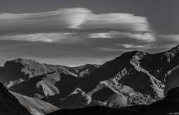 ACONCAGUA - Nuvens lenticulares ao sul do Aconcágua, estas nuvens geralmente antecipam tempestades e são comuns em altitudes - Foto Gabriel Tarso