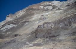 ACONCAGUA - O Aconcágua estava muito seco em fevereiro de 2015, esta é a vista de 5500m montanha acima! - Foto Gabriel Tarso