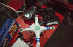 ACONCAGUA - O drone de filmagem do Canal Off - Foto Gabriel Tarso