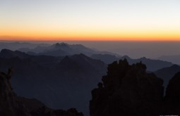 ACONCAGUA - Por do sol desde Nido de Condores - Foto Gabriel Tarso