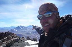 Cume do nevado Pular, um dos mais remotos dos Andes