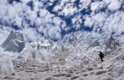 Descendo do Pico Polaco, Argentina - Foto de Maximo Kausch