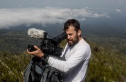 KILI - Gabriel Tarso Filmando a 3000m proximo a Machame - Foto Gabriel Tarso