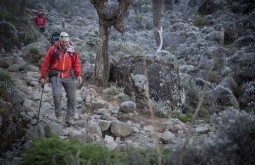 KILI - Maximo próximo ao acampamento Barranco 3900m - Foto Gabriel Tarso