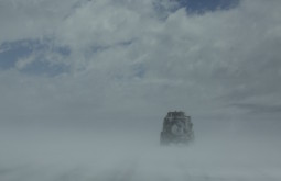 Troller numa tempestade de neve - Foto Caio Vilela