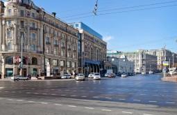 A rua Tverskaya