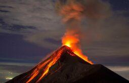 1 vulcão Fuego