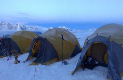 Acampamento 1 a 5750m