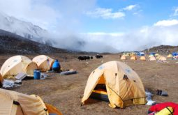 Acampamento base do Ama Dablam