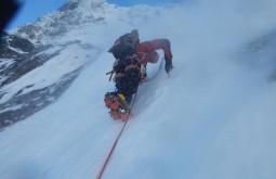 Abrindo nova rota entre Cholatse e Tawoche - Nepal - João Garcia