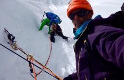 Escalando uma nova rota no Nepal 1 - João Garcia