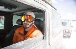 Jovani Blume, nosso mecânico e companheiro em uma etapa dos Andes - Foto de Caio Vilela