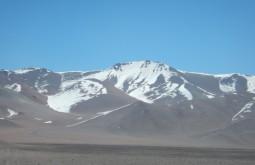 Sierra de Aliste com 5125m, montanha que era virgem mas já escalamos