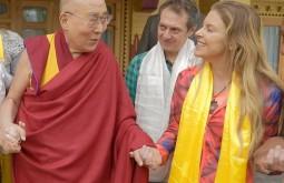 Com o Dalai Lama