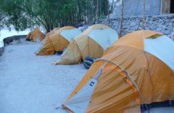 Acampamento em Paiju