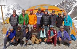 Integrantes de expedição de 70 dias no Paquistão
