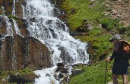 Cachoeira próxima a Laguna de los Patos