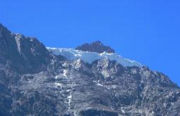 Glaciar colgante do Alto San Juan