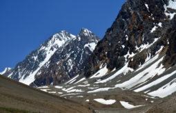 O cerro Bello com 5200m