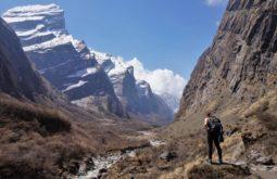 Vale próximo a Hotel Himalaya