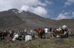 Chegada ao Acampamento base do Ararat