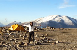 Alexandre Sanfugro a 5200m - Foto de Paula Kapp