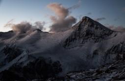 Cerro Cuerno desde plaza Canada, esta imponente montanha tem quase 5400m - Foto de Gabriel Tarso